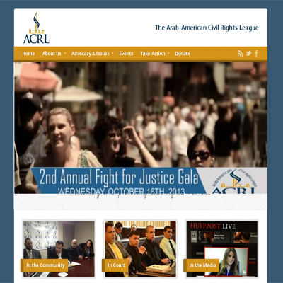 civil rights branding and web design